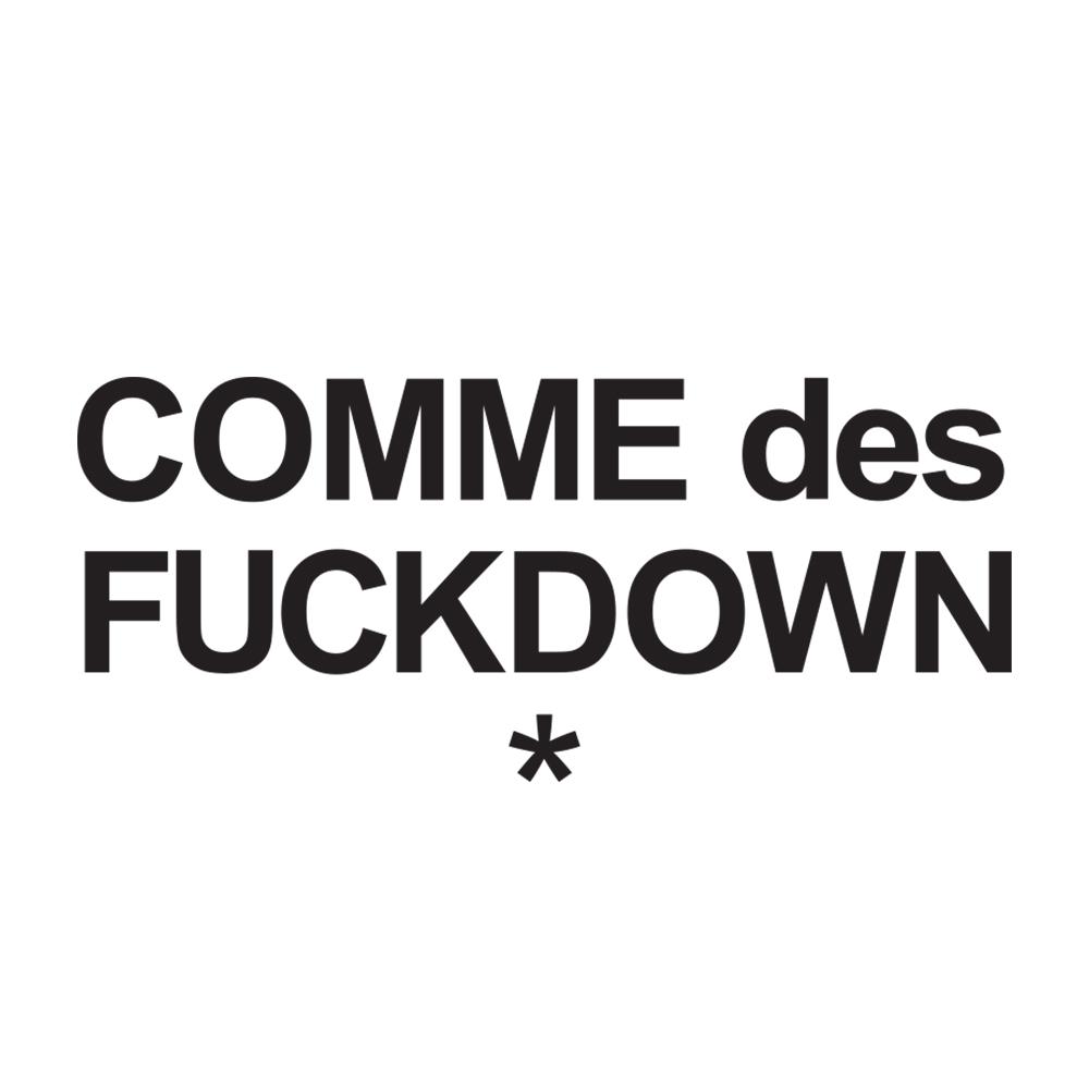 Logo comme des fuckdown
